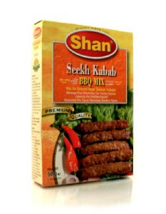 Shan Seekh Kabab [Recipe & Seasoning Mix] | Buy Online at The Asian Cookshop.